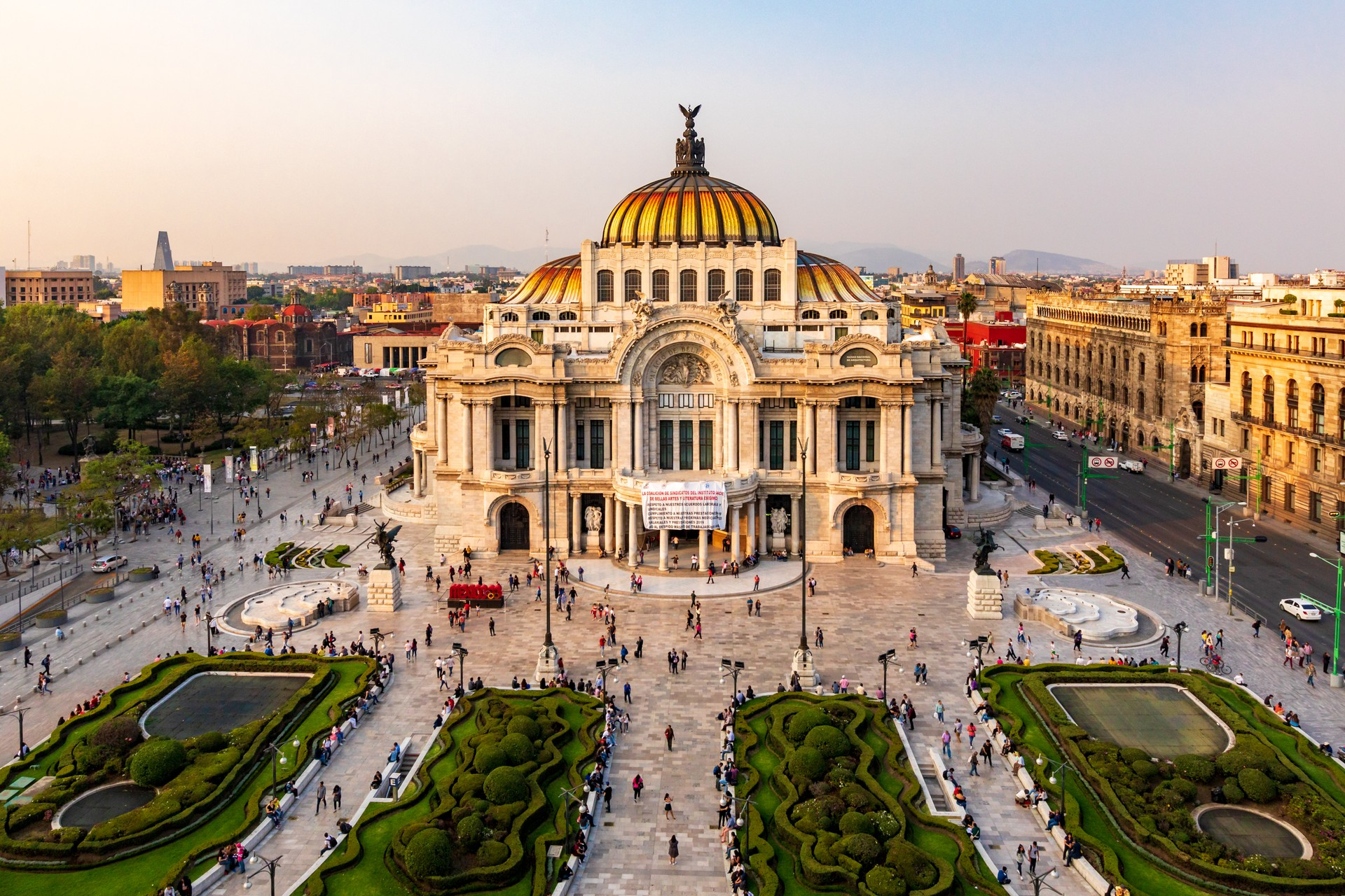 City Palacio de Bellas Artes - Holiday to Mexico City