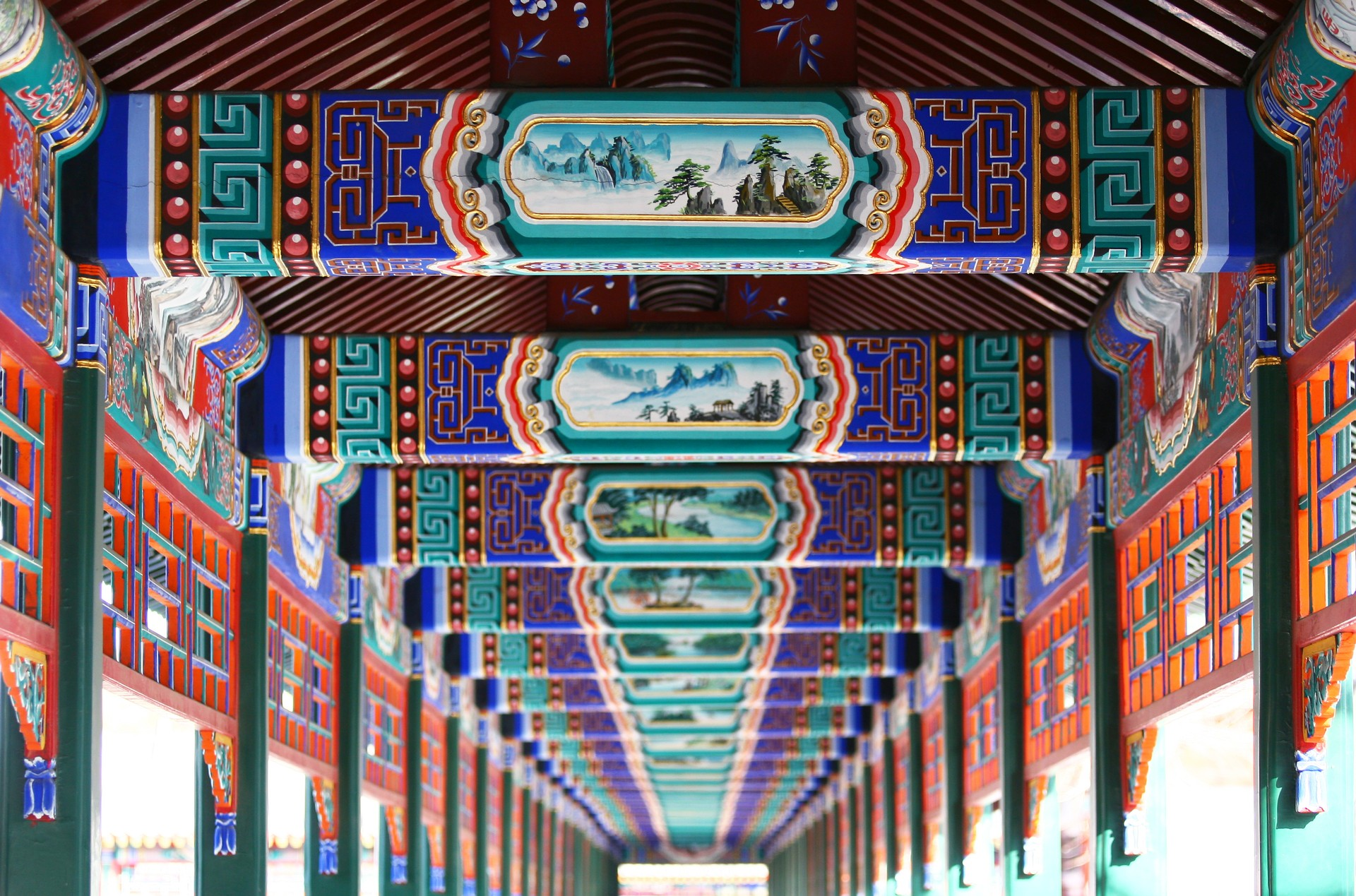 Long Corridor in Beijing's Summer Palace