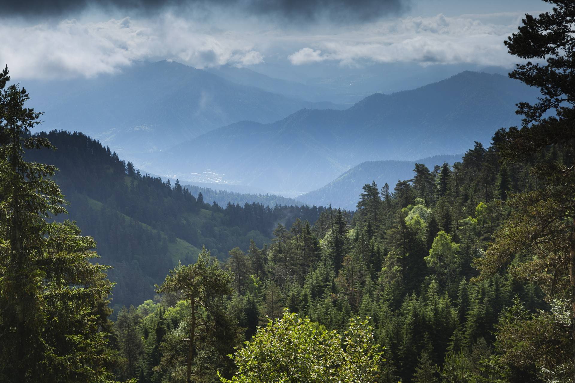 The spectacular mountain vistas of Borjomi-Kharagauli National Park