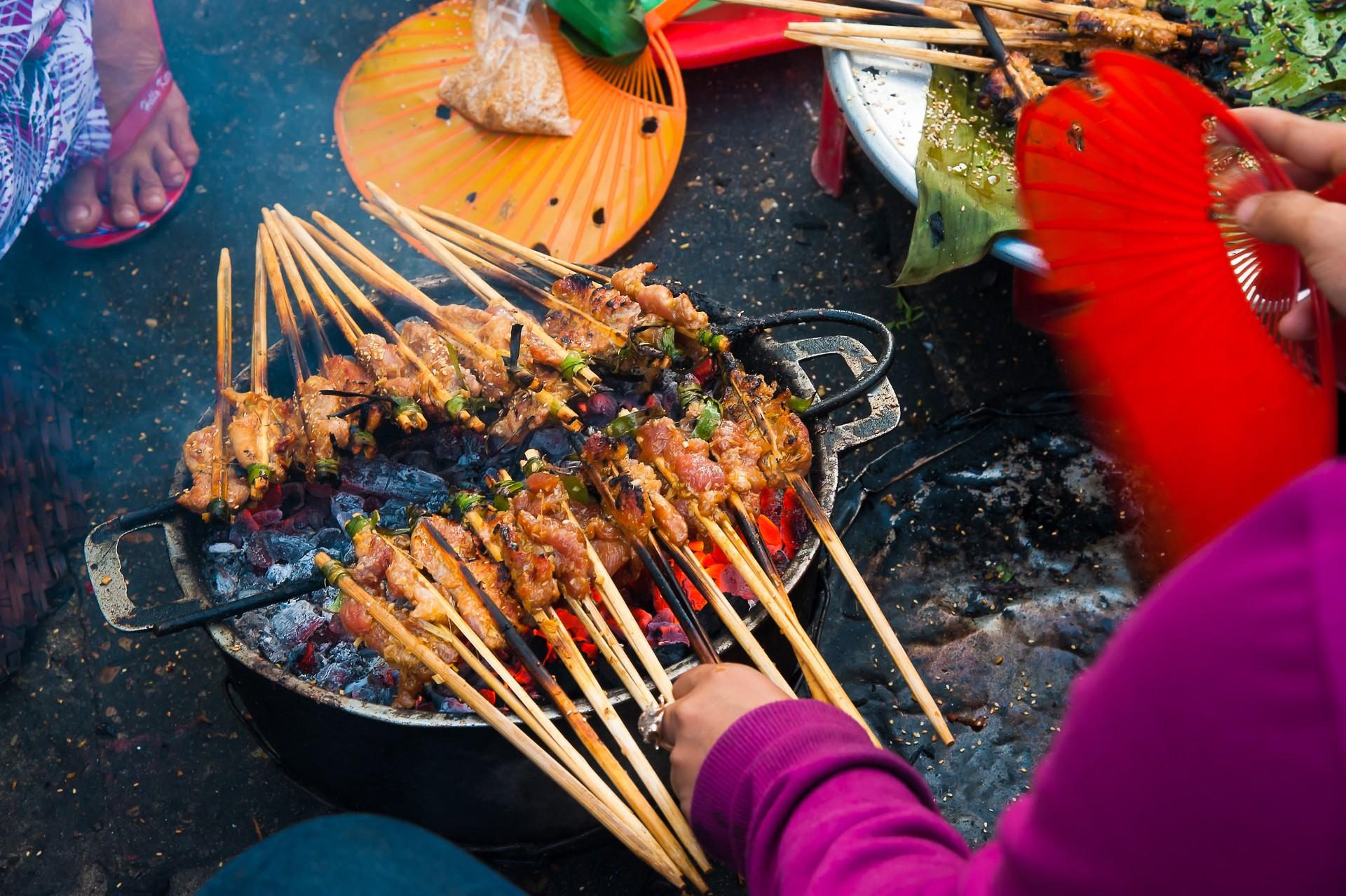 Vietnam food tour - Hoi An grilled meat