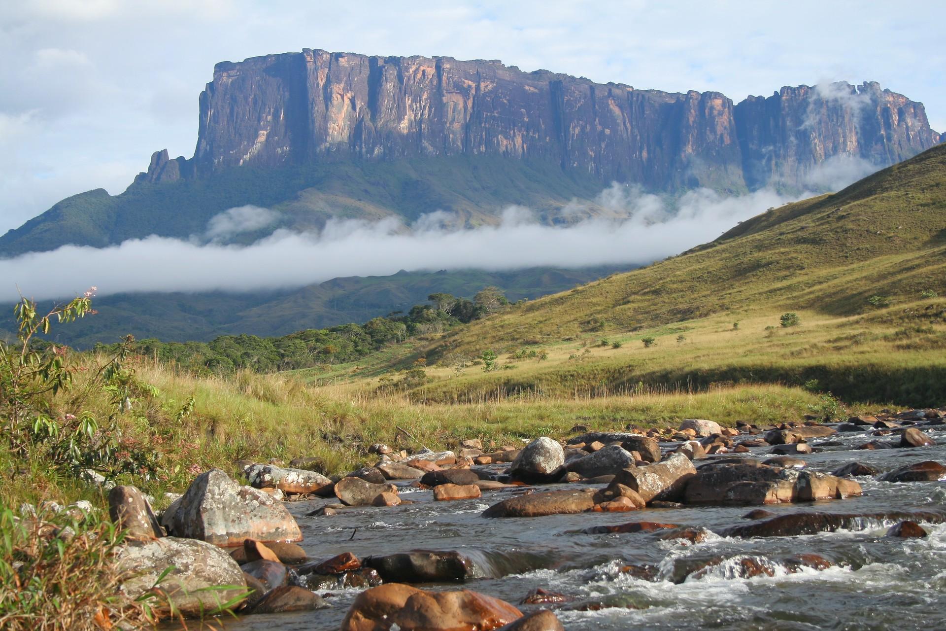 Mount Roraima on the border of Brazil, Guyana and Venezuela