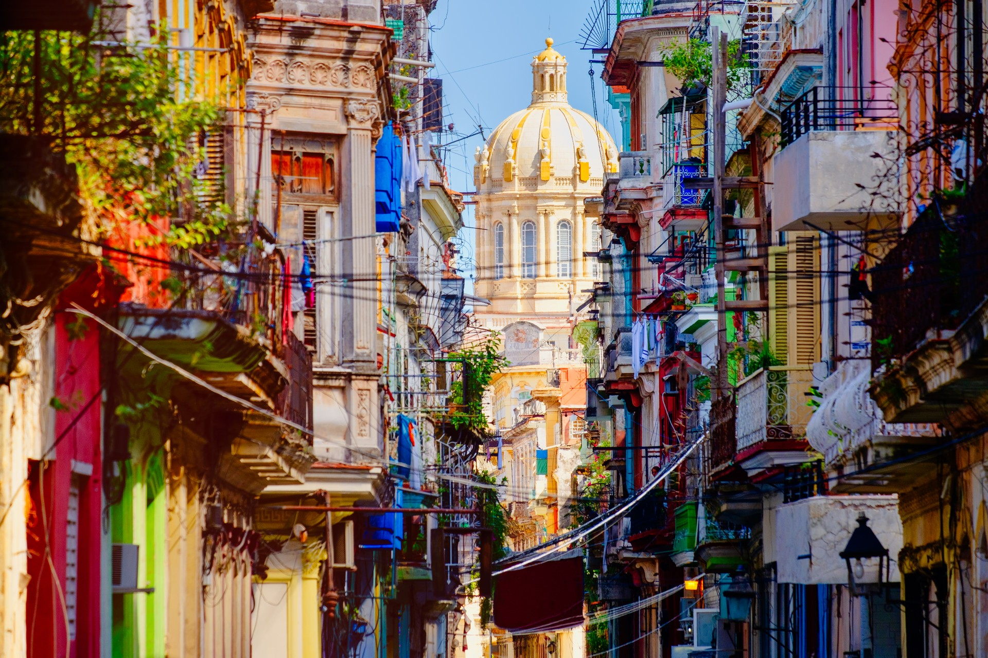 The cityscape of Havana, Cuba