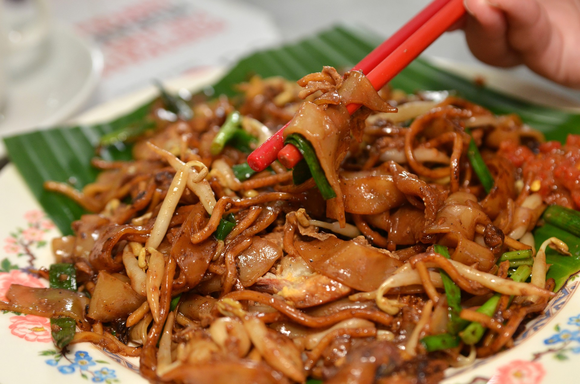 Kway Teow noodles