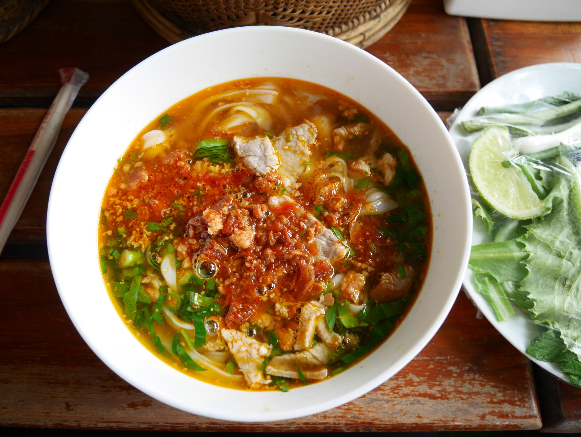 What to eat in Vientiane: Lao Khao Soi