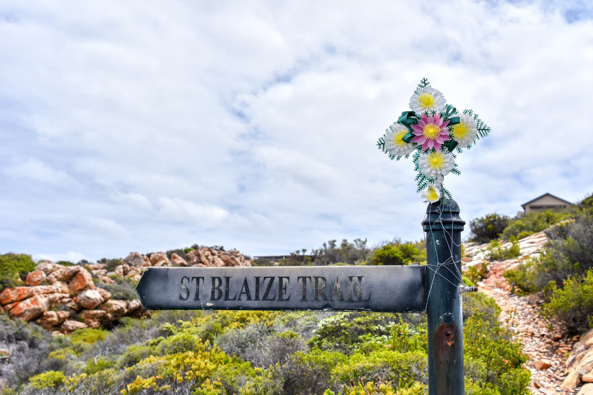 Starting point of the St Blaize Trail along South Africa's Garden Route