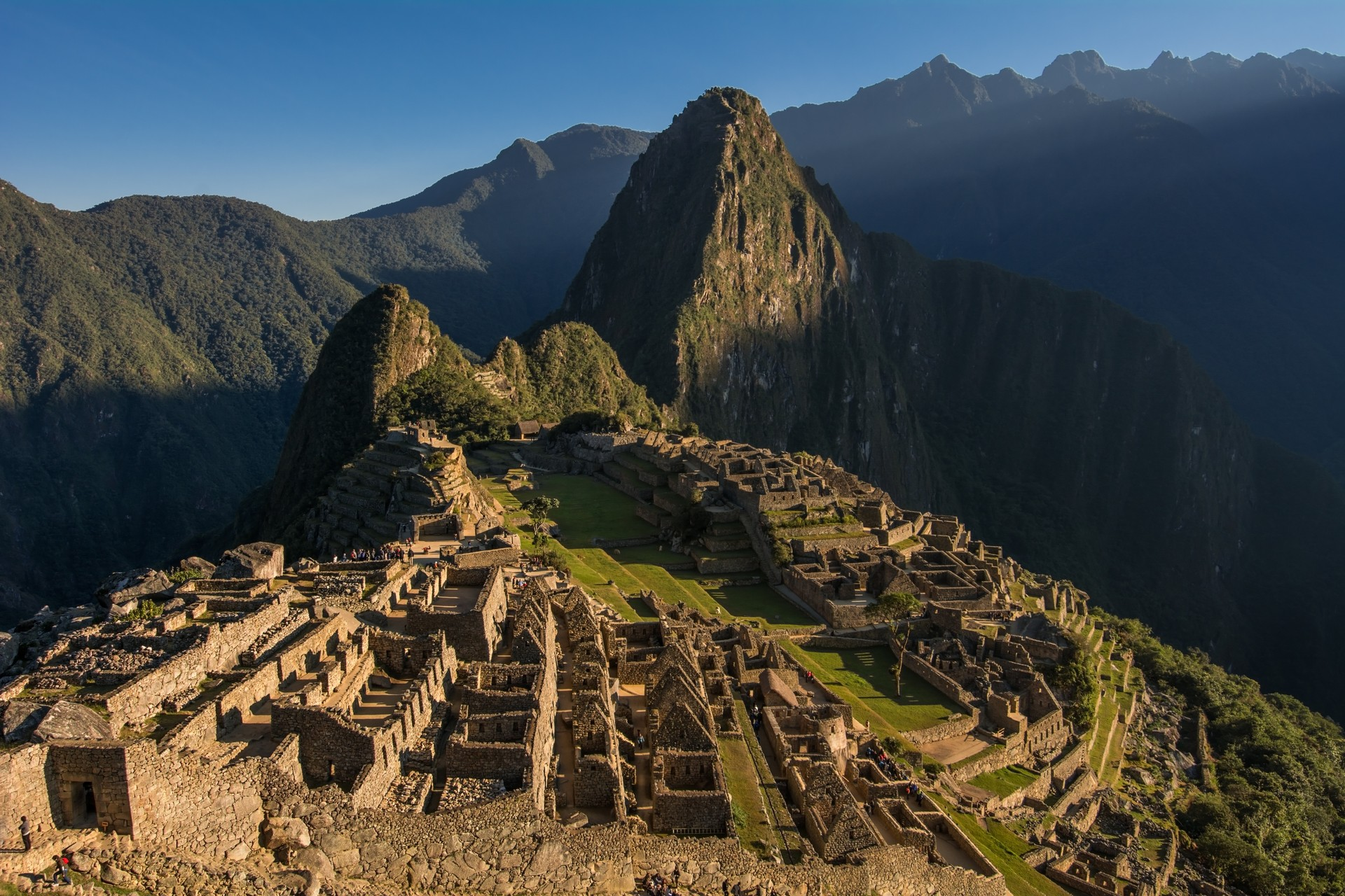 The Inca Trail is the iconic trek up to Machu Picchu in Peru