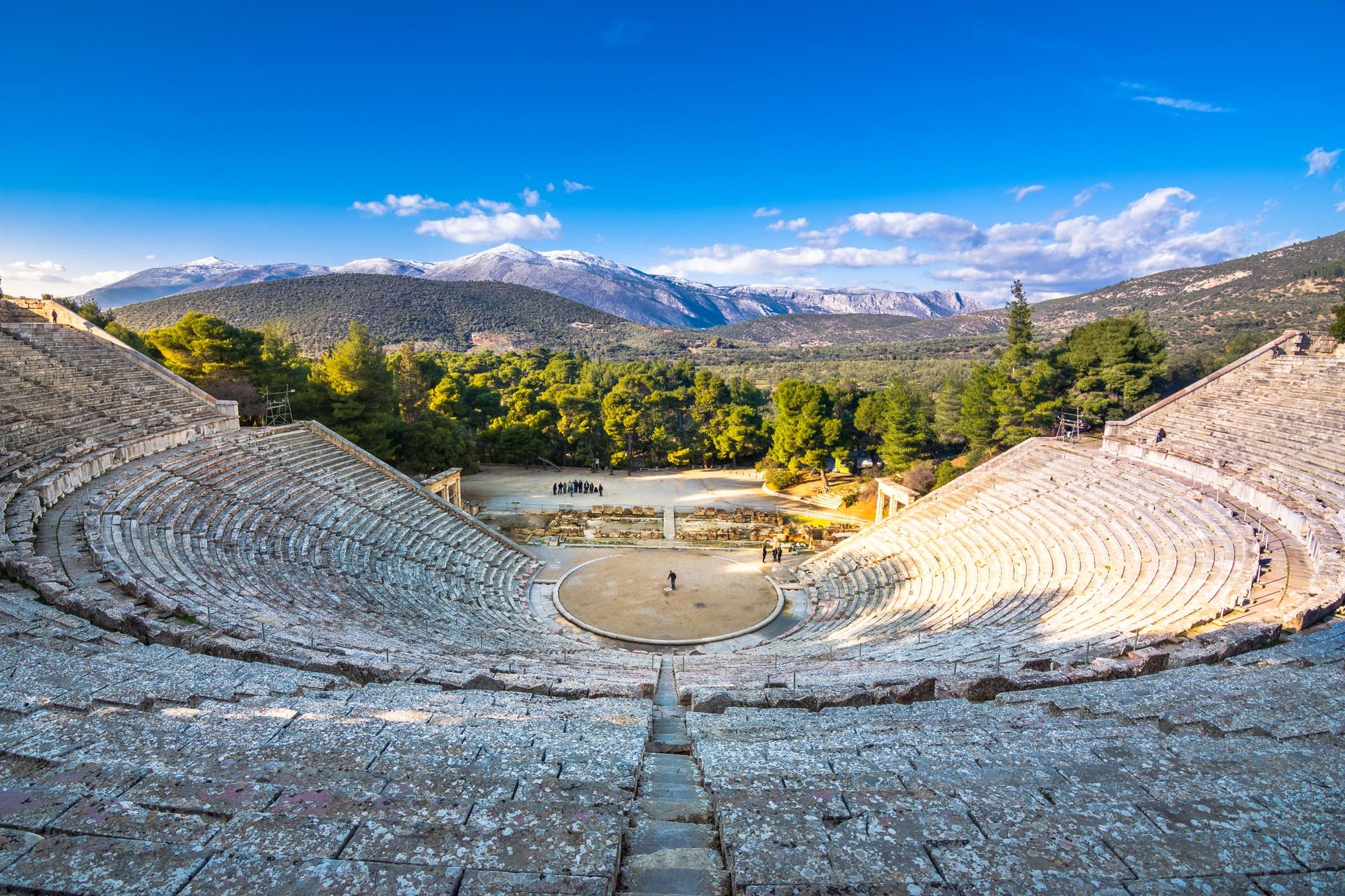 Epidaurus in Greece