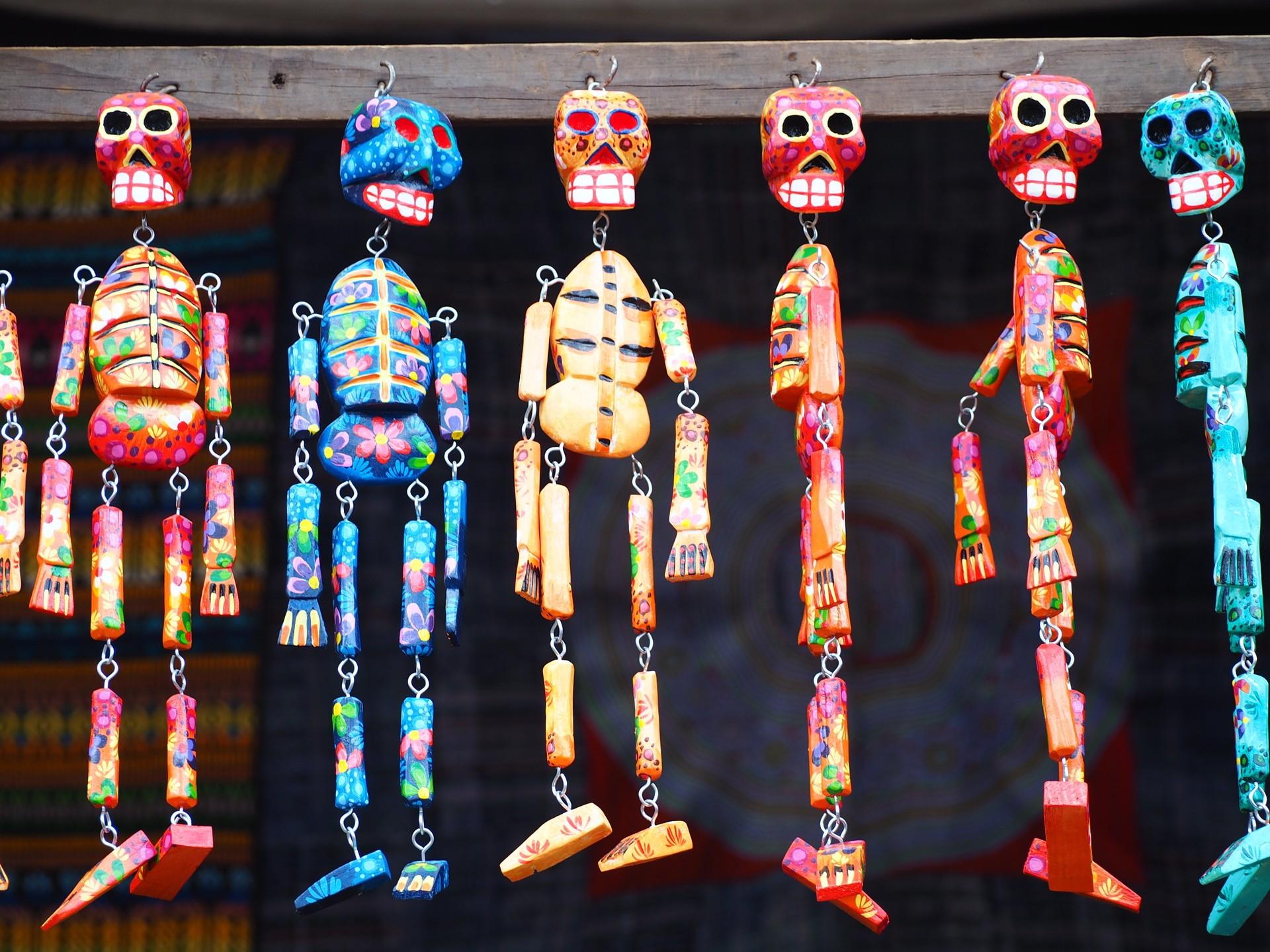 Dia de los Muertos decorations in Guatemala