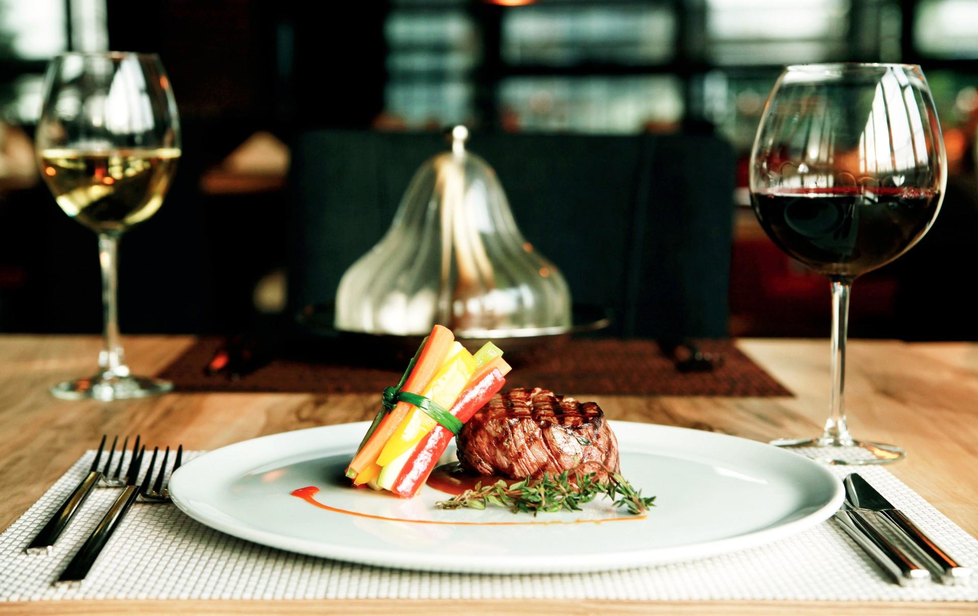 Argentina food tour - gourmet meal