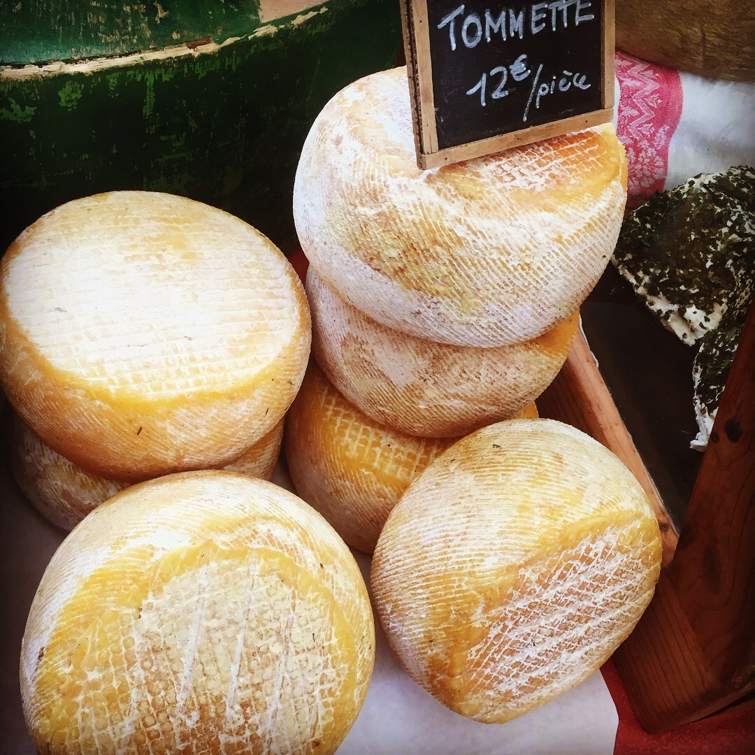 Cheese in the French Pyrenees