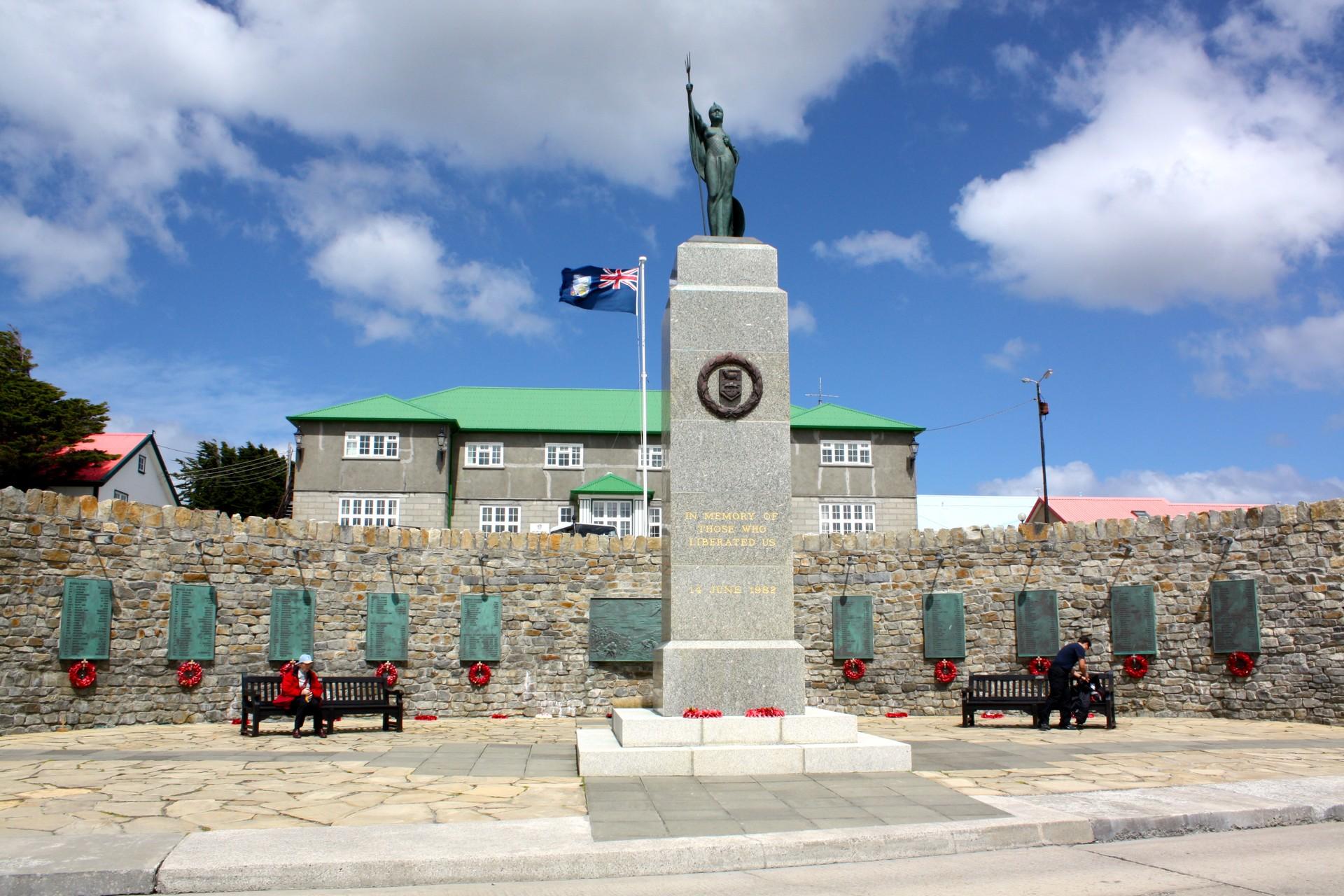 Falklands War Memorial Stanley
