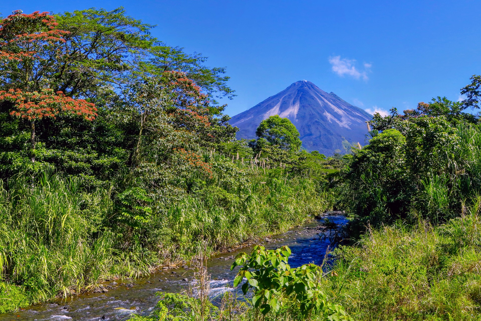 The National Parks of Costa Rica: Arenal Volcano