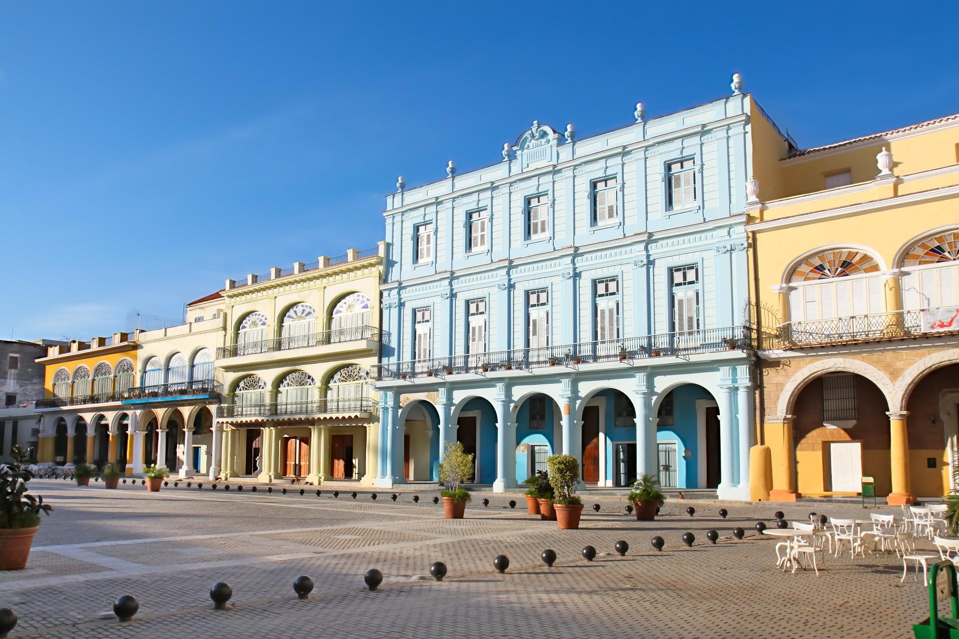 Plaza Vieja cuba