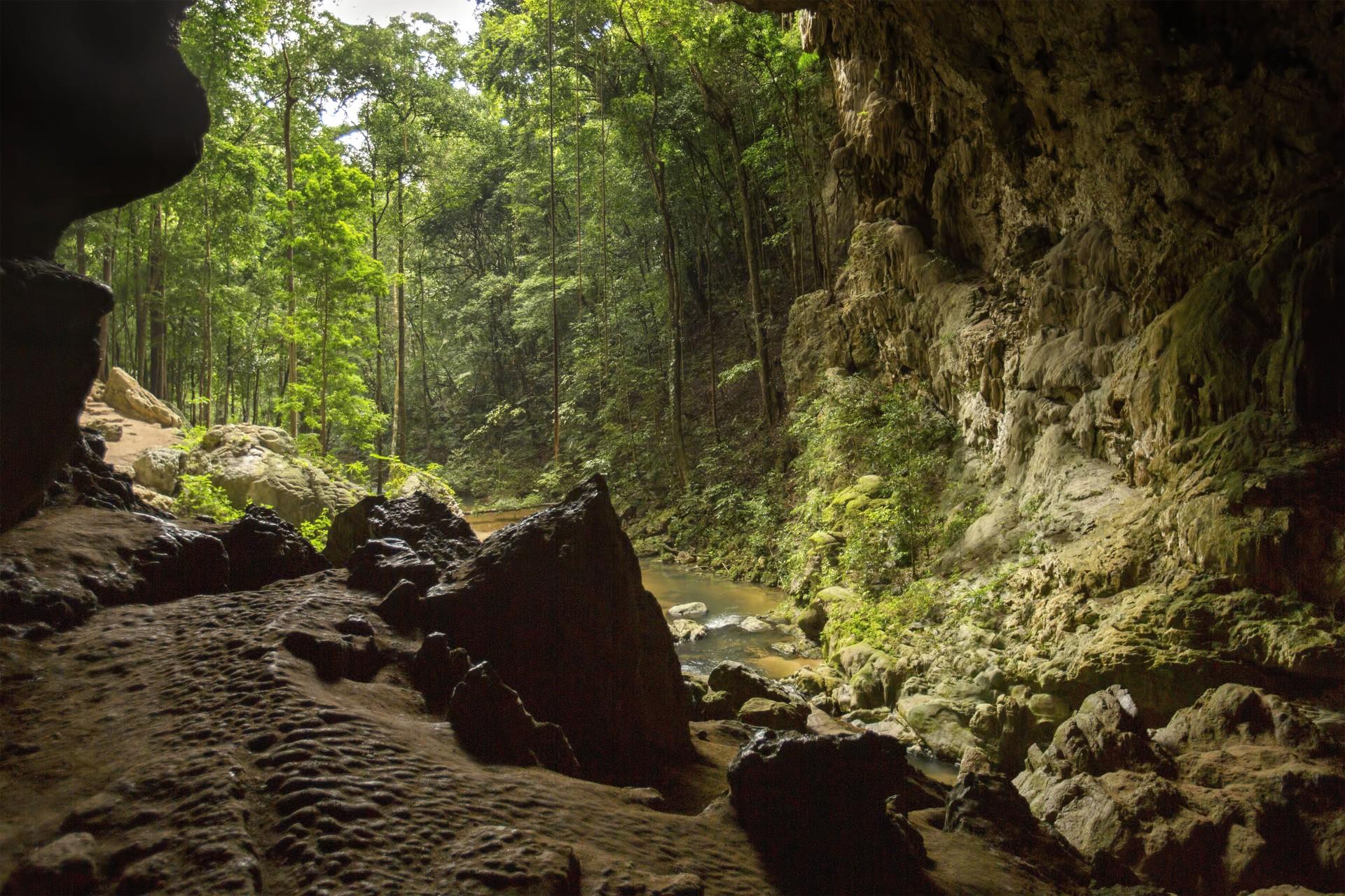 Rio Frio cave in Belize