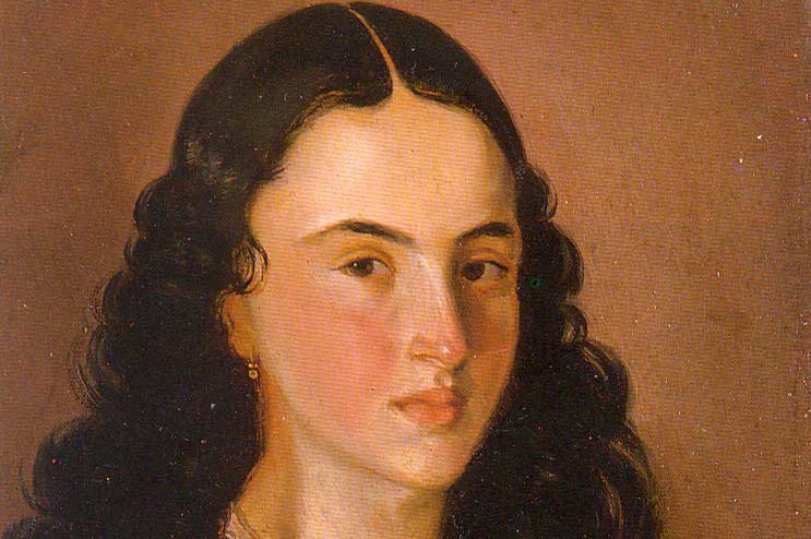 A portrait of Policarpa Salavarrieta the Colombian Revolutionary