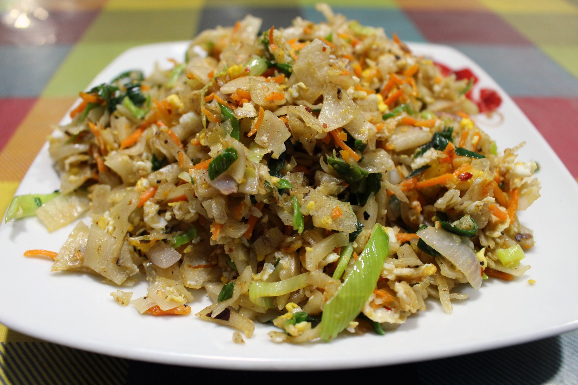 Sri Lanka food tour - kottu roti