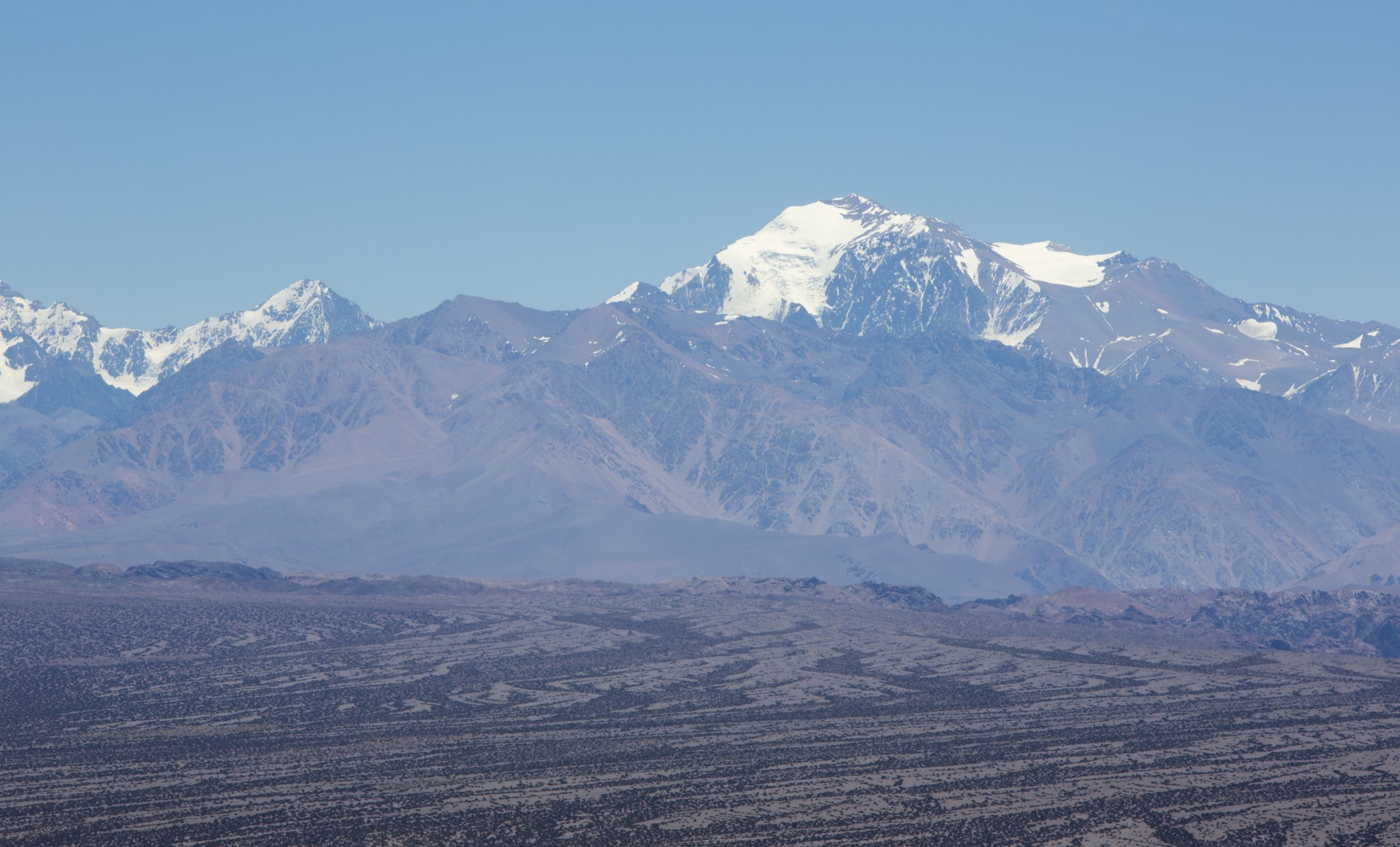The mountains of El Leoncito National Park, Argentina