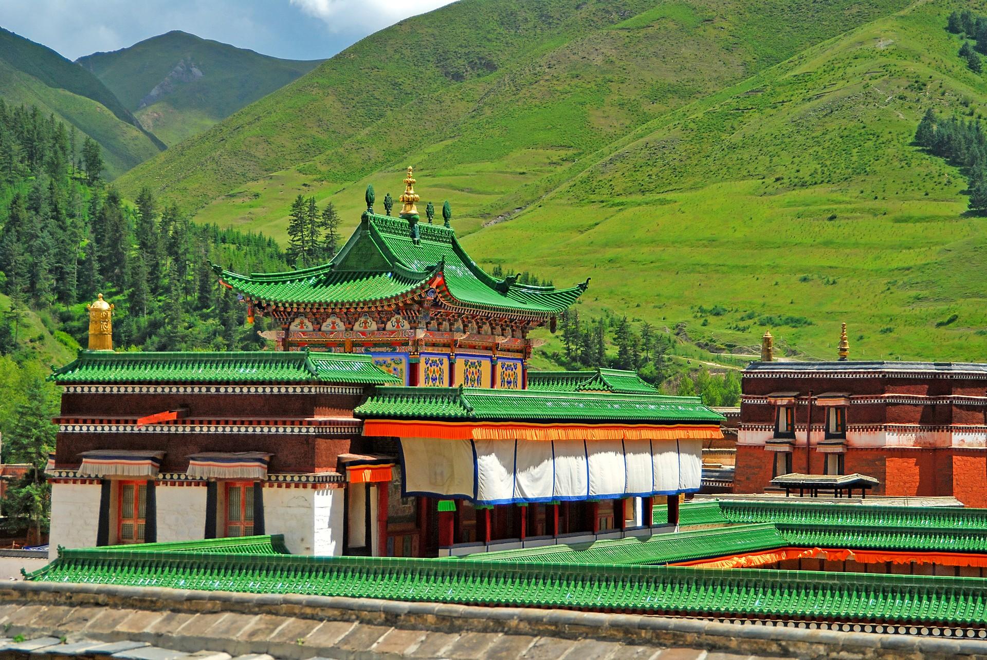 Labrang Monastery Tibet China
