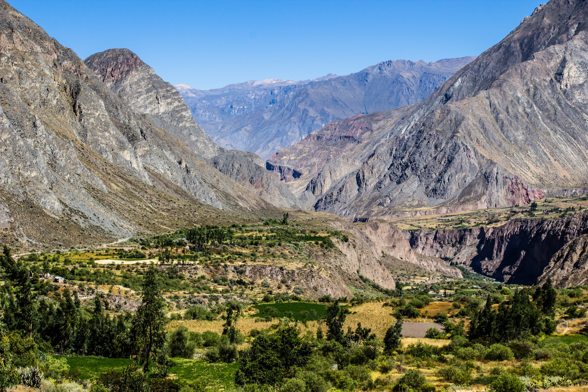 The Cotahuasi Canyon in Peru is the world's deepest canyon