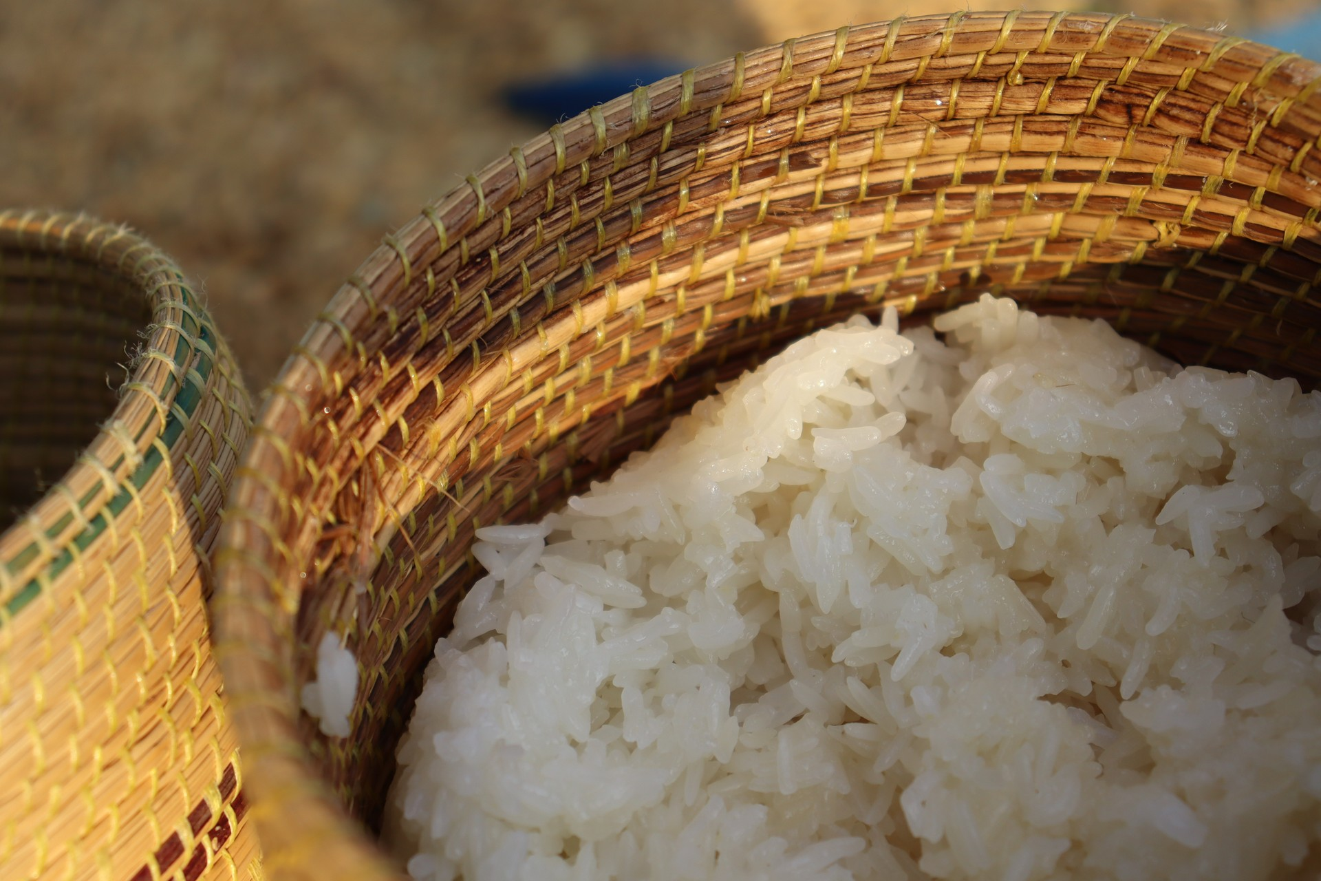 What to eat in Vientiane: Sticky Rice