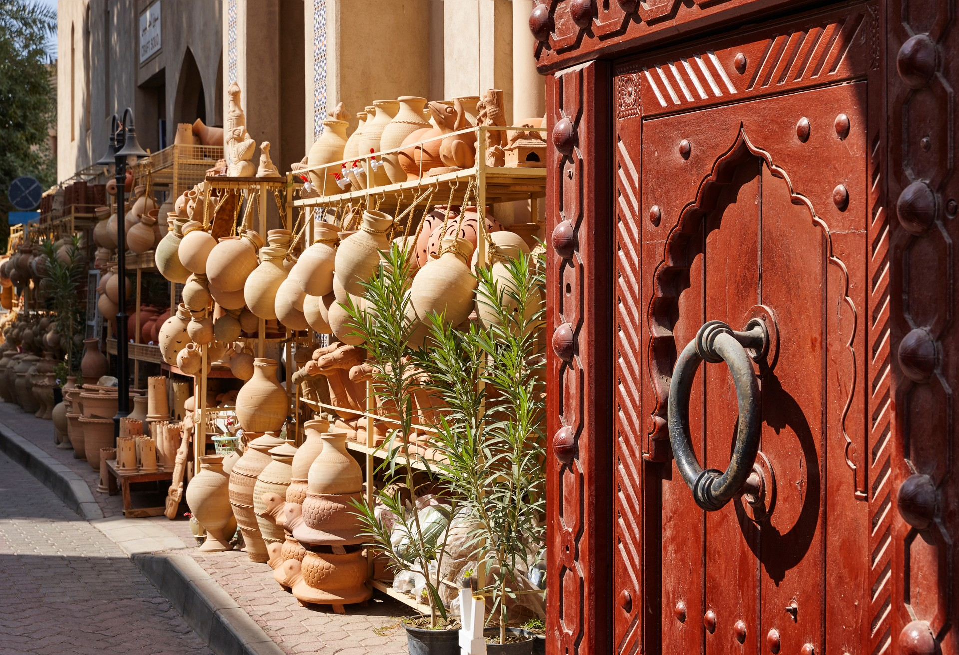Market stall in Nizwa, Oman