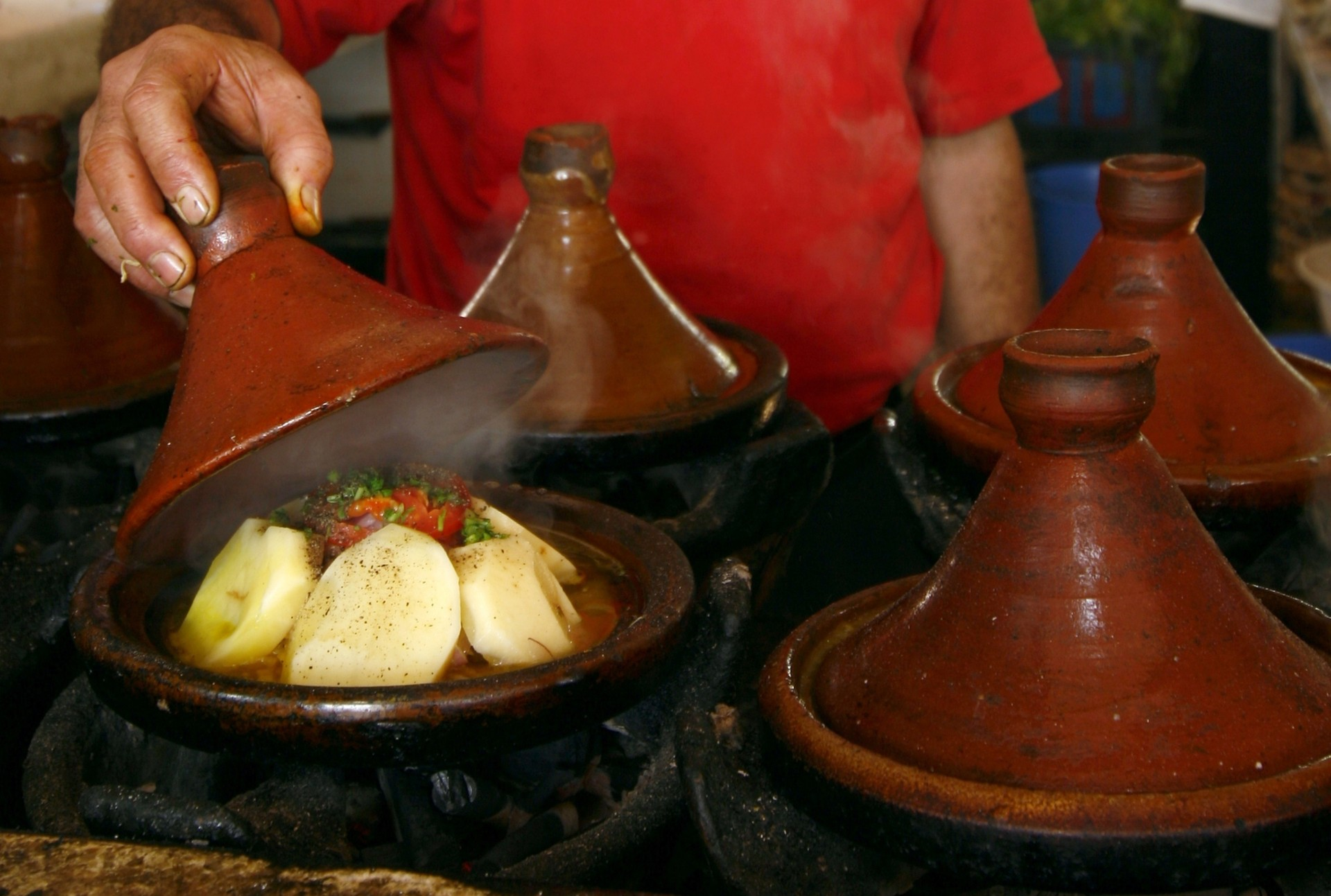 Morocco food tour - tagine