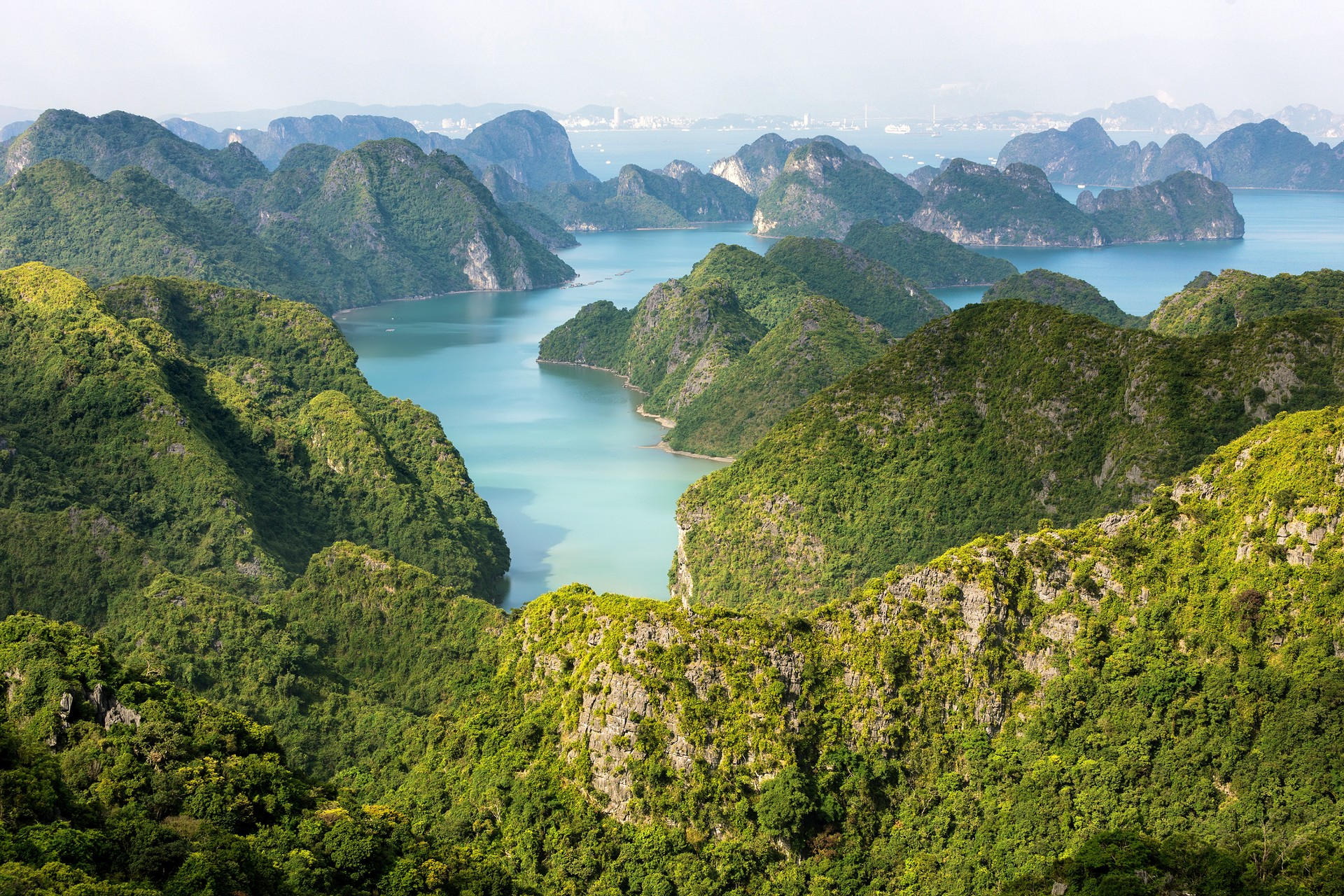 Lan Ha Bay in Vietnam