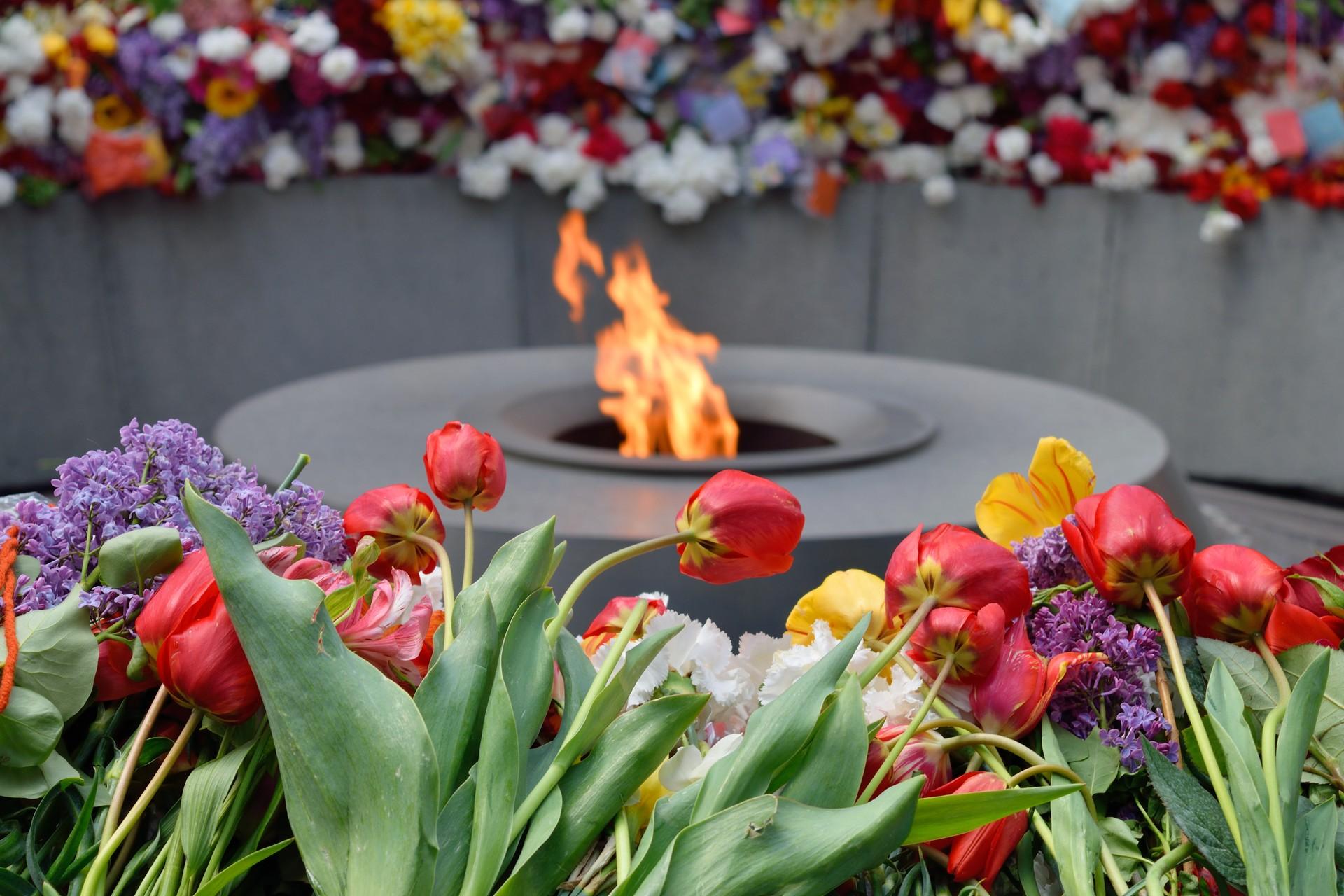Tsitsernakaberd Armenian Genocide memorial complex,
