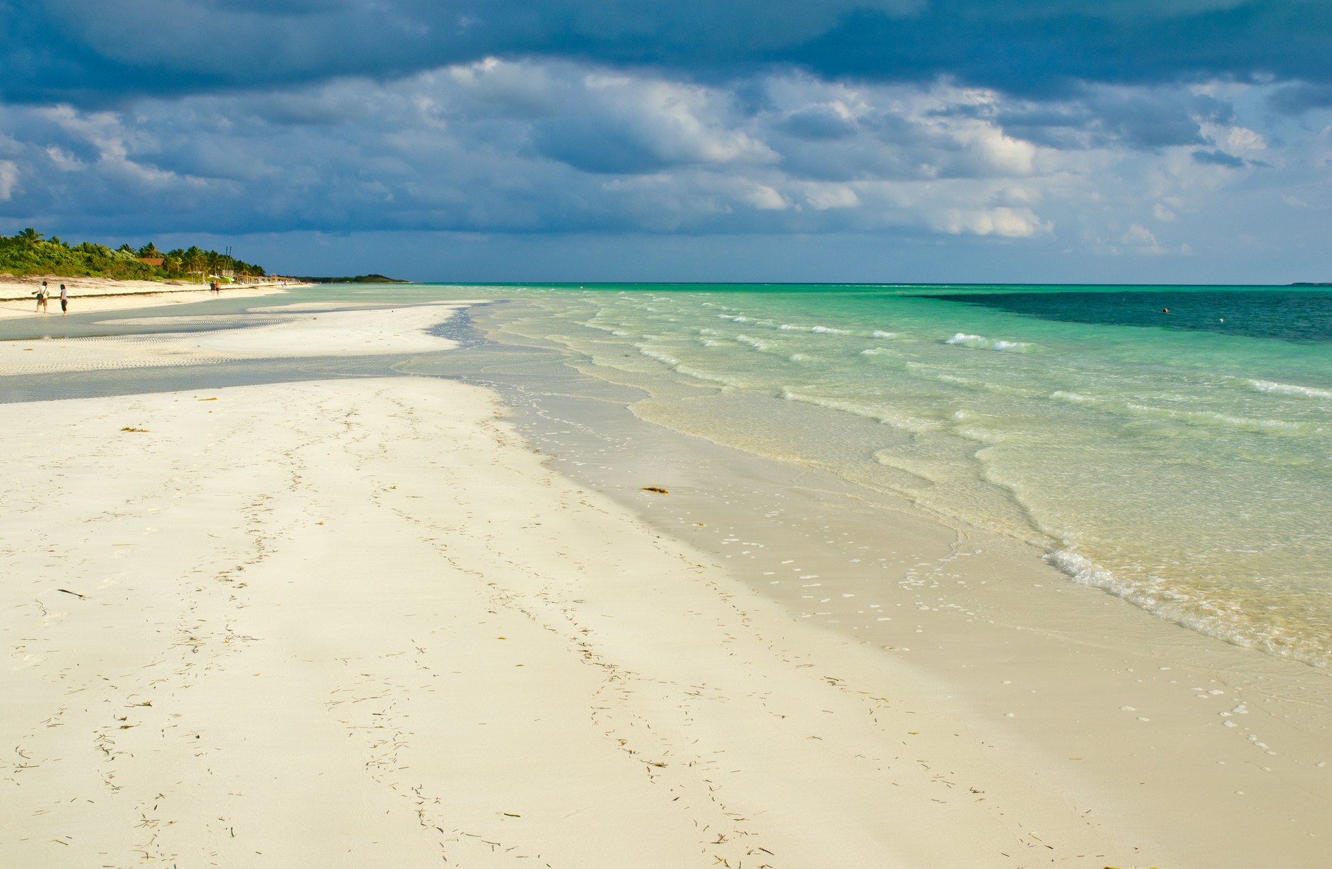 Beach on Cayo Guillermo, Cuba