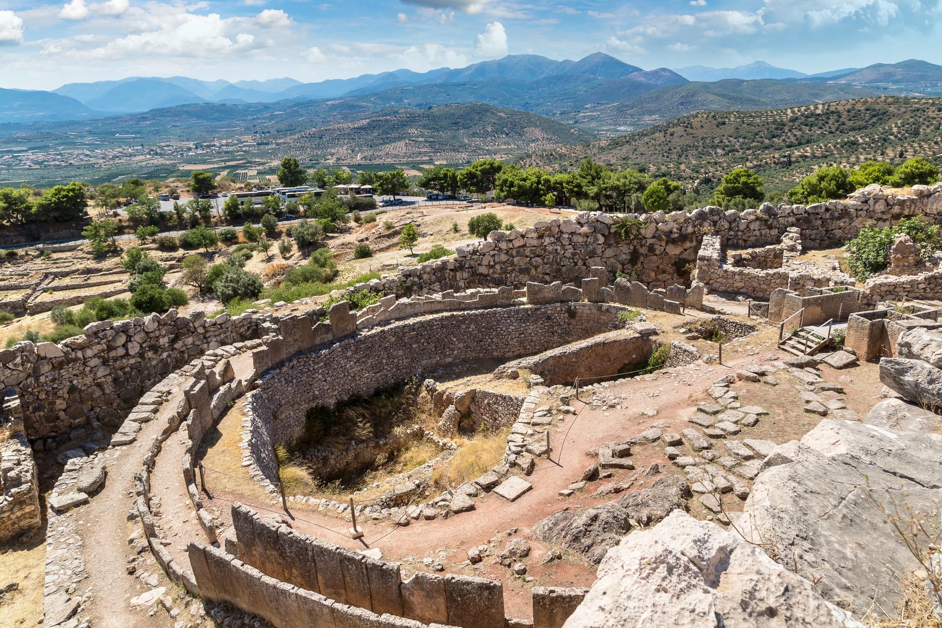 Mycenae in Greece