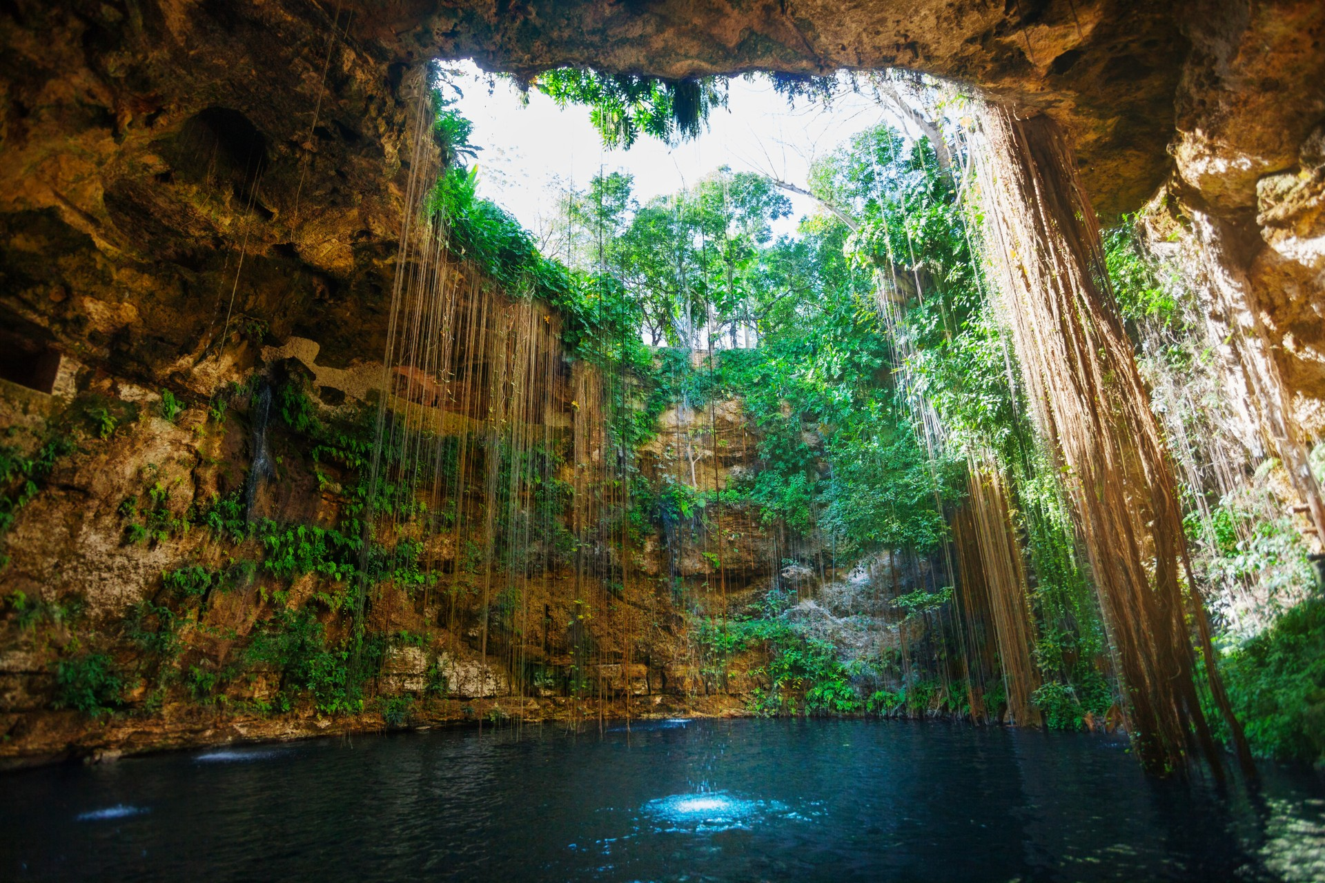The best places to go wild swimming: Ik Kil Cenote