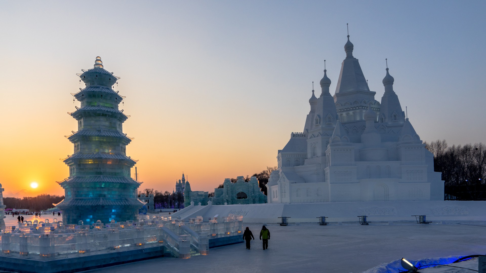 Where to go for Winter Wonderlands: Harbin Ice Festivals