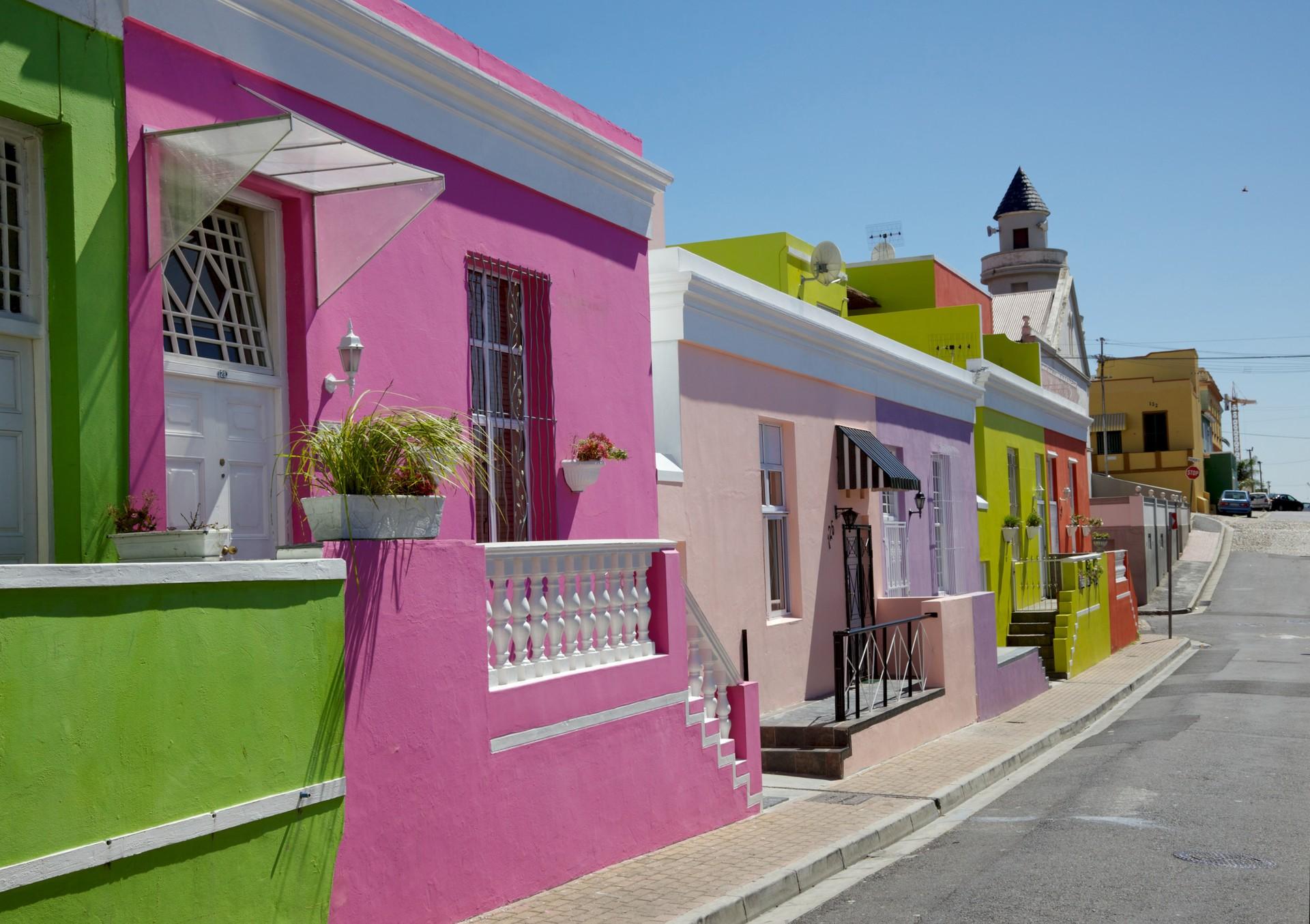 South Africa holiday - Bo Kaap neighbourhood