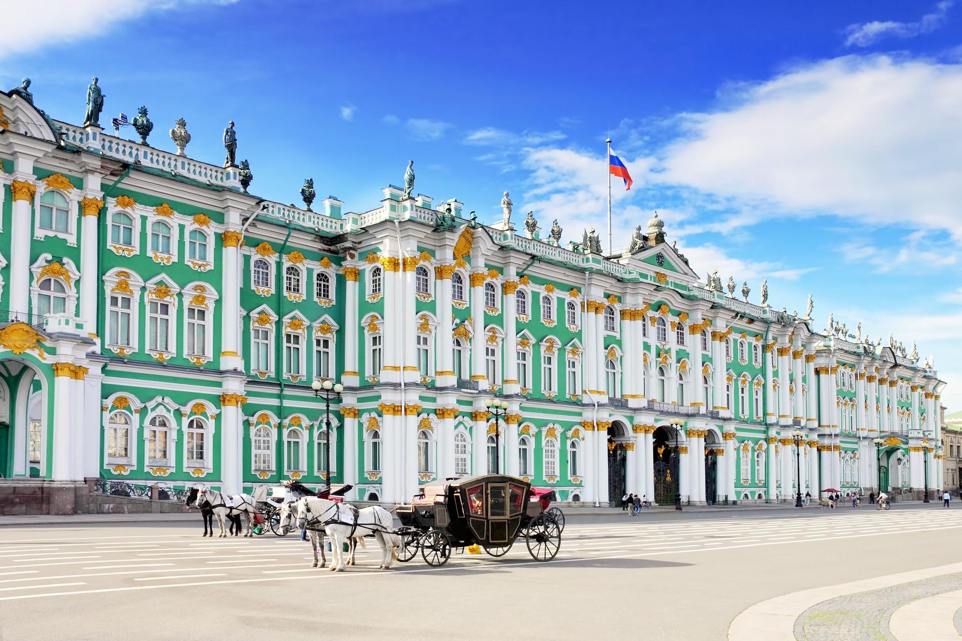 Leo Tolstoy's War and Peace begins in St Petersburg in 1805
