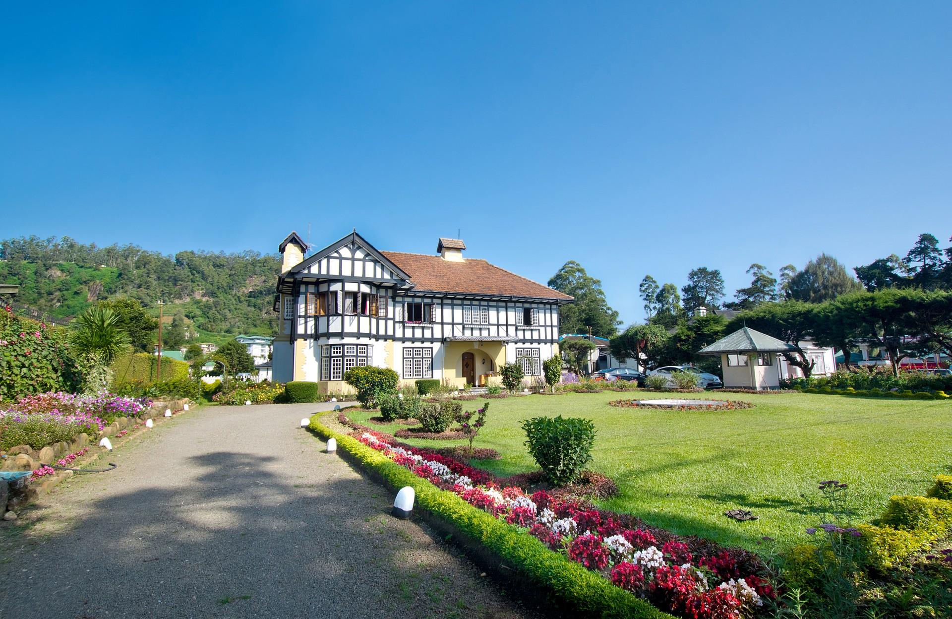 Mock tudor house in Sri Lanka
