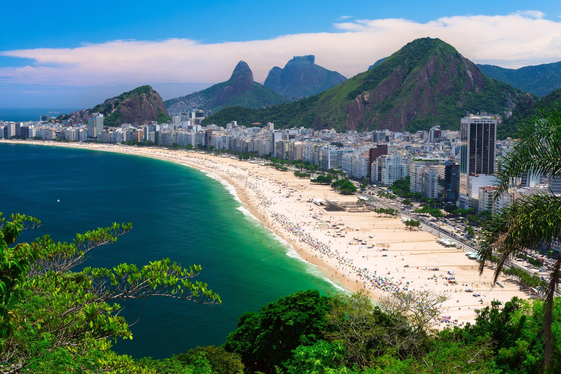 Brazil Rio de Janeiro beach