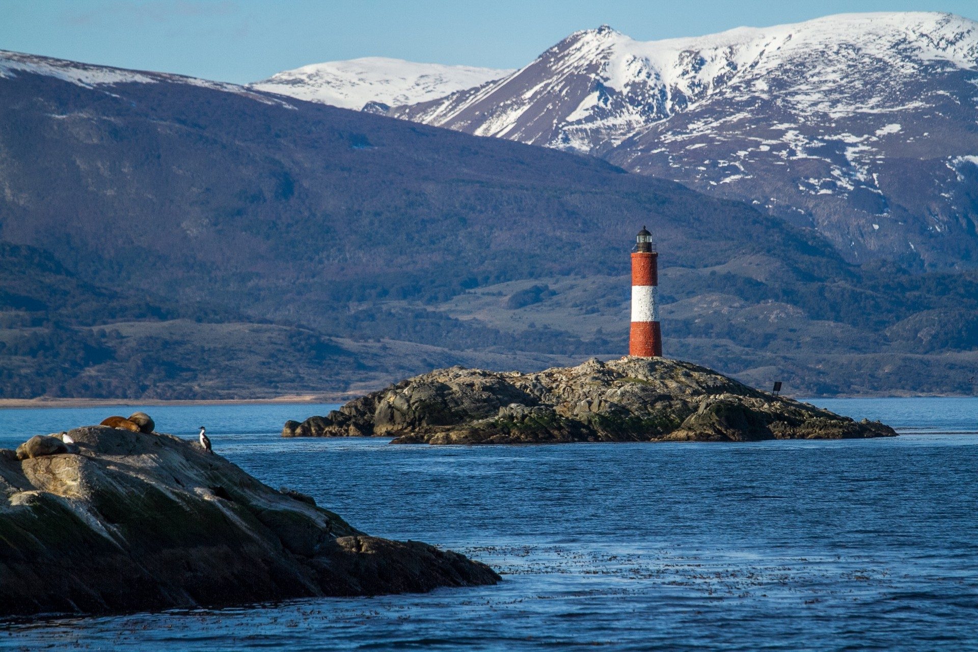 Lighthouse near Ushuaia, Argentina