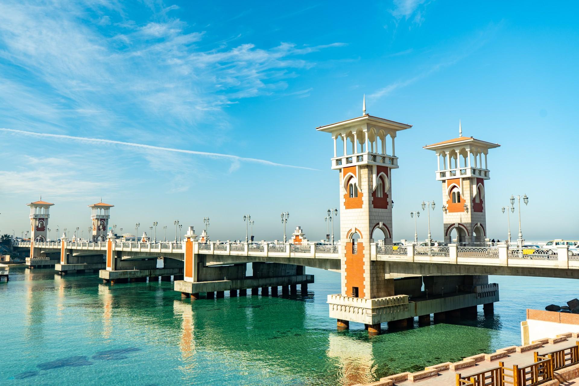 Stanley Bridge in Alexandria, Egypt
