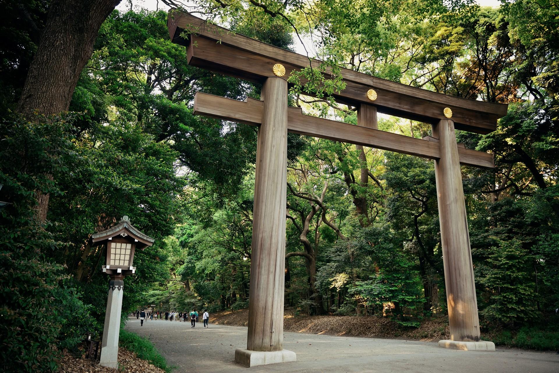The Meiji Shrine in Tokyo's Yoyogi park