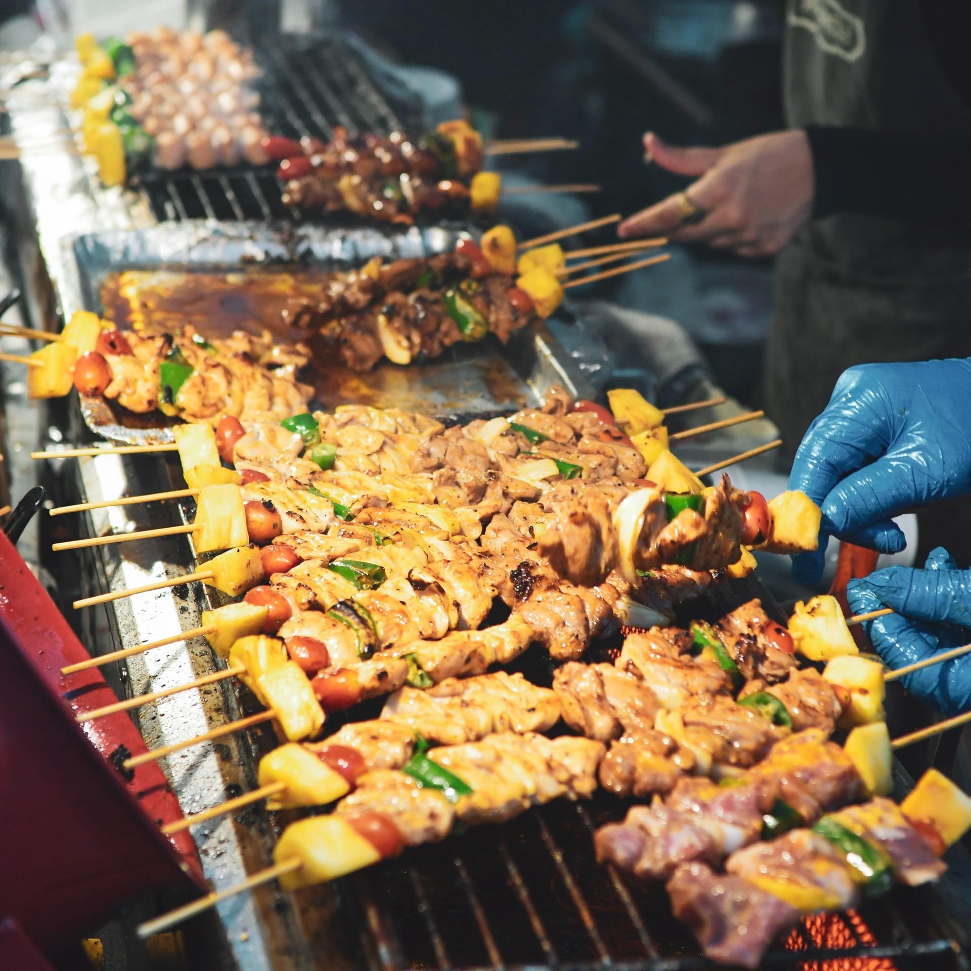 Thailand bbq meat