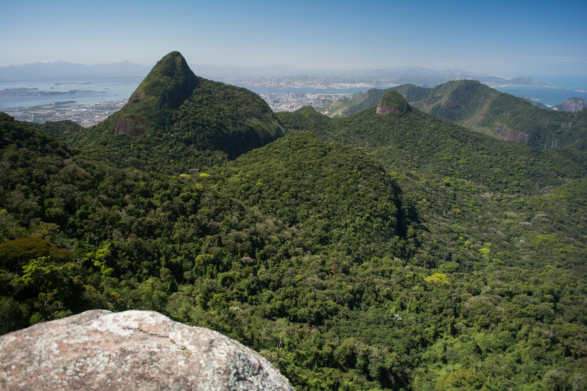 Pico do Papagaio in Ilha Grande