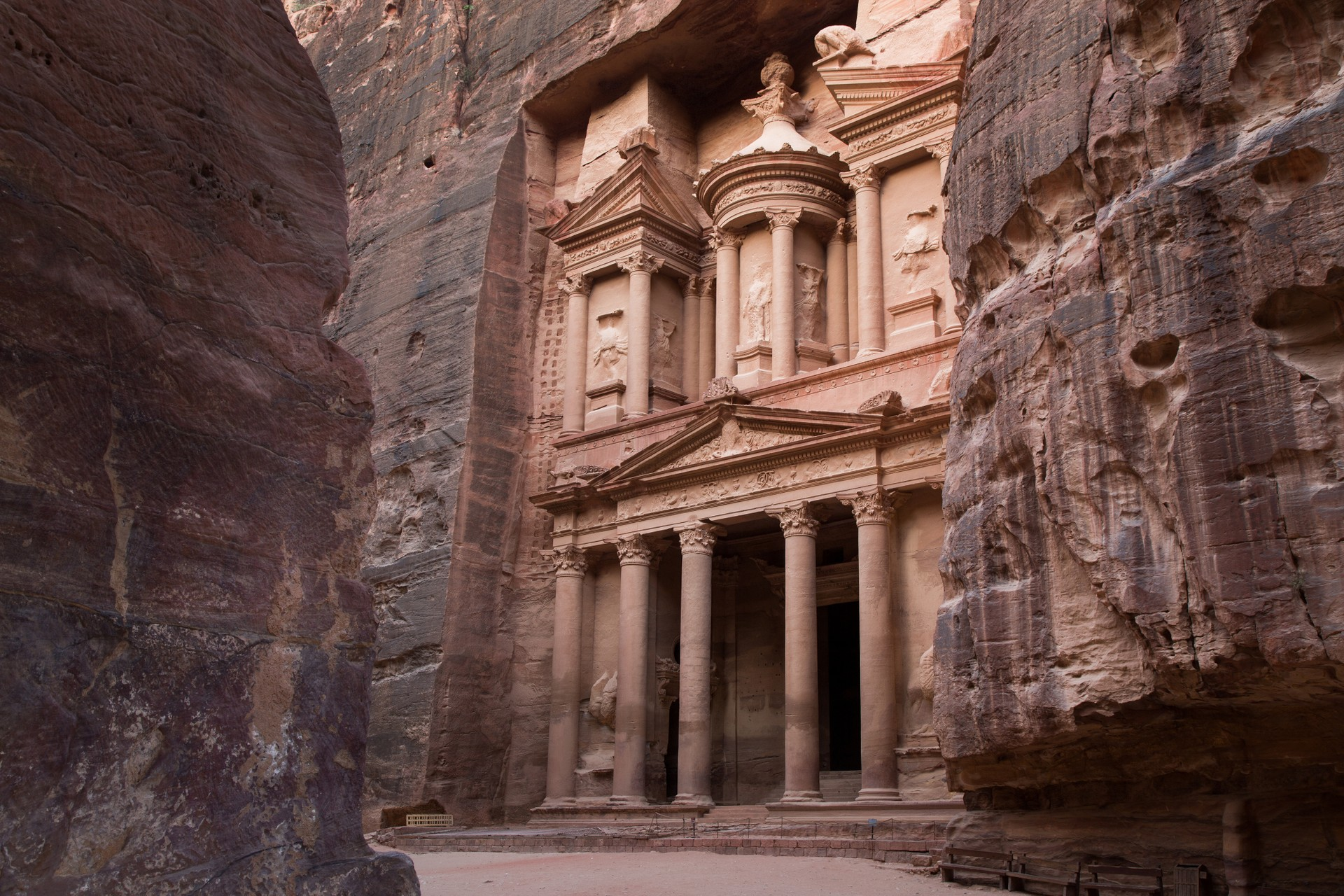 The Treasury, Al Khazneh, in Petra