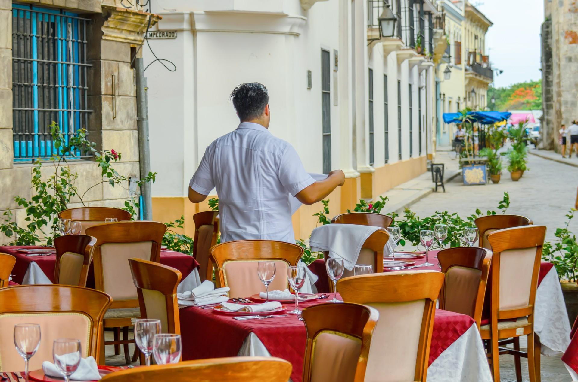 Restaurant in Havana