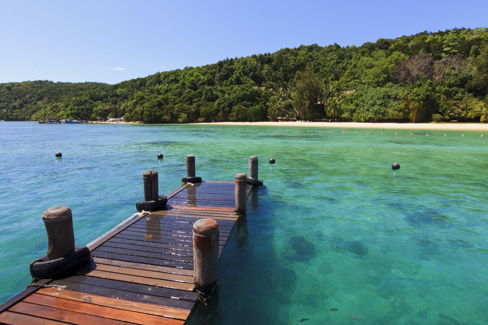 Borneo holidays: Manukan island