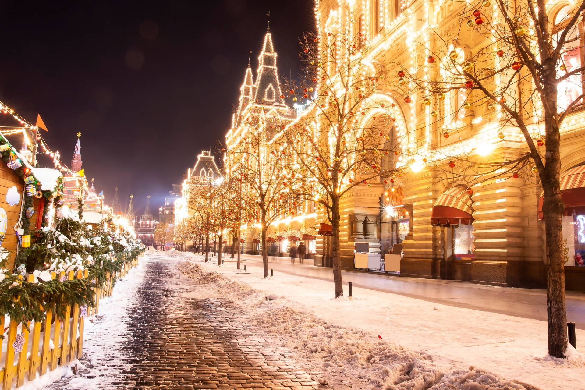 Where to go for Winter Wonderlands: Red Square