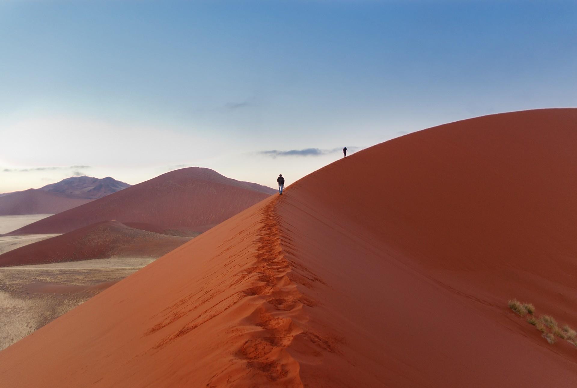 Sossusvlei landscape in Namibia