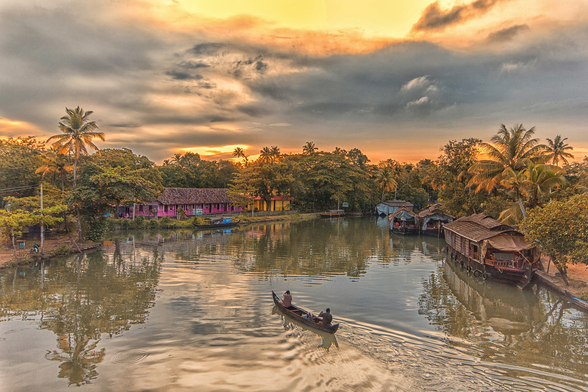Ultimate holiday destinations: Kerala Backwaters