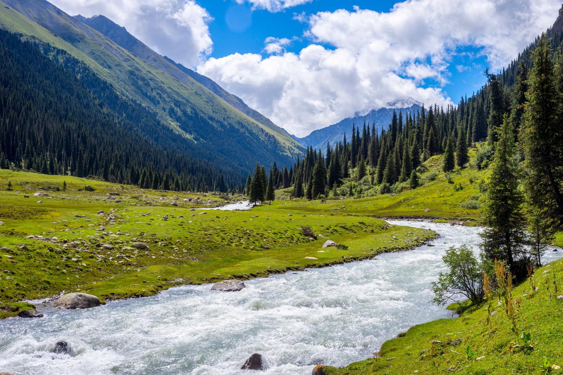 Karakol national park Kyrgyzstan
