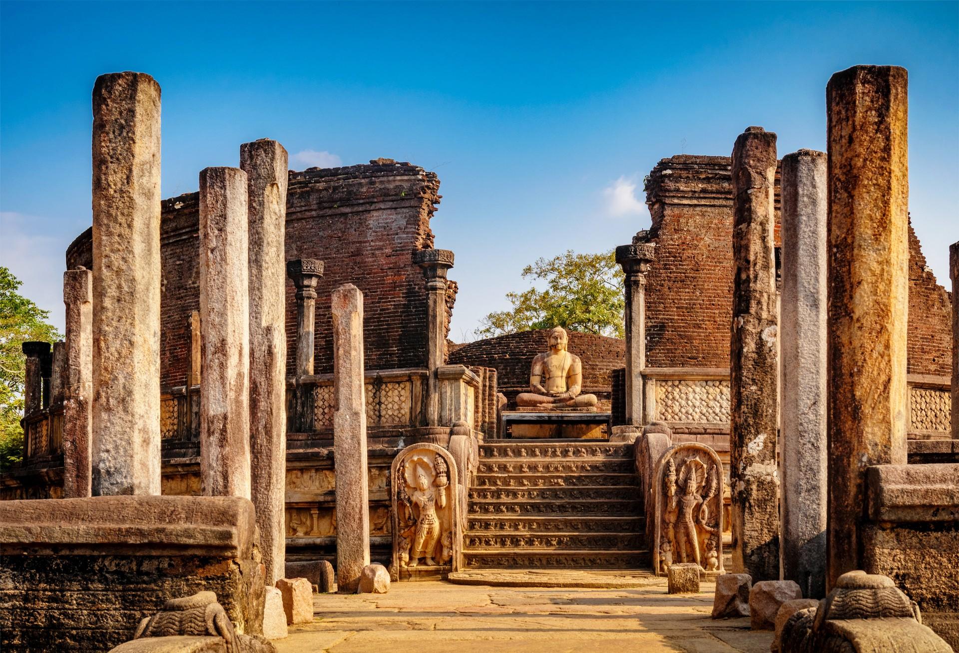 Sri Lanka holidays: Polonnaruwa UNESCO ruins