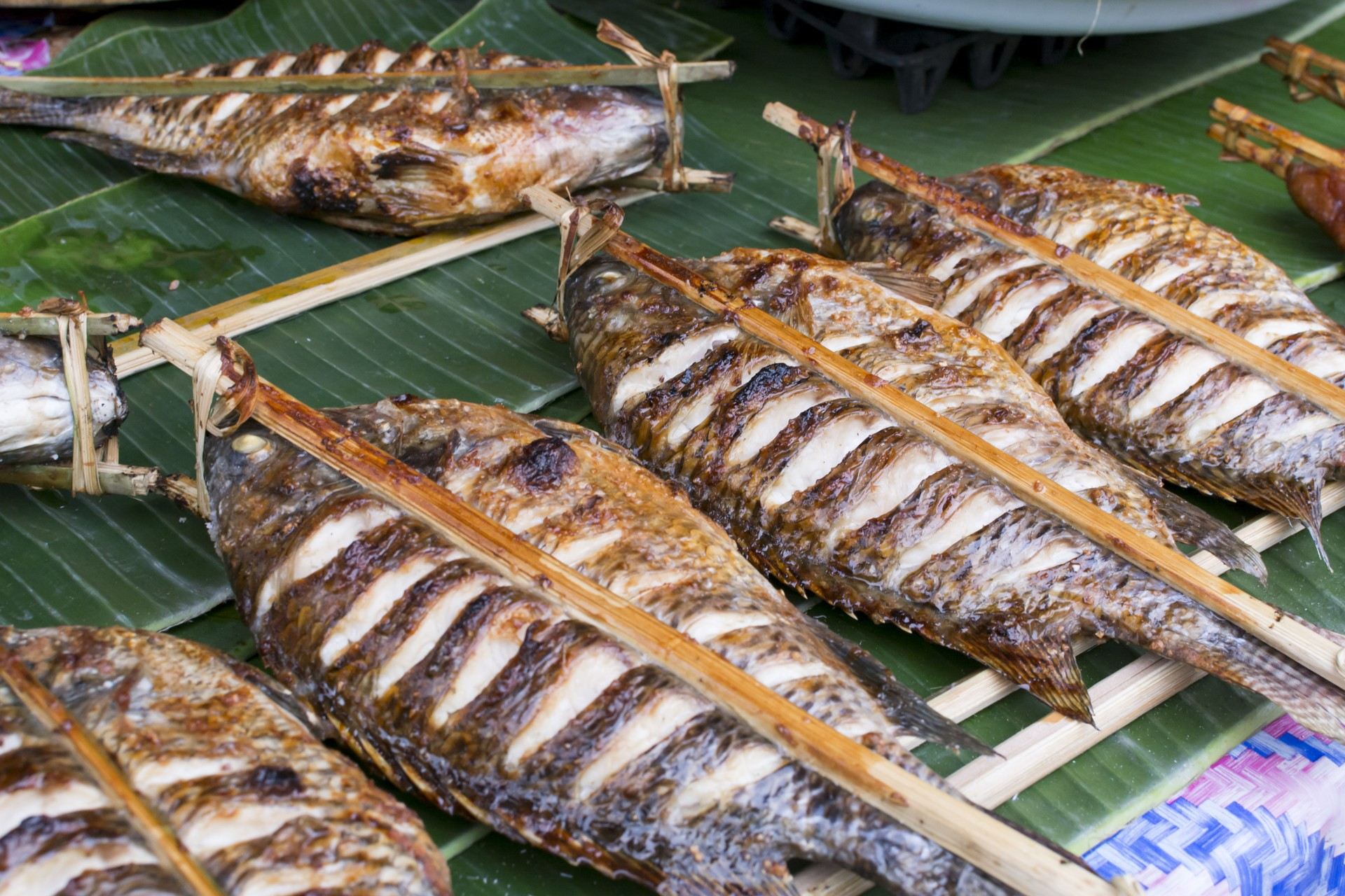 What to eat in Vientiane: Grilled fish